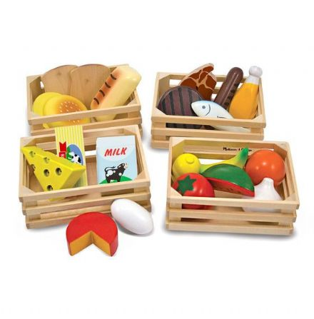 Melissa & Doug Wooden Food Groups